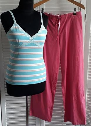 Красивая пижама одежда для сна 10-12 размер.