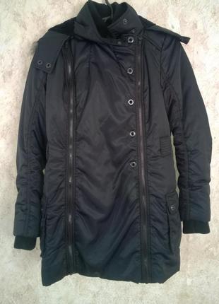 Черный пуховик пальто next 12