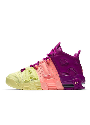 Женские кроссовки nike air more uptempo tint pink tint nuance rose pale