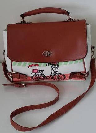 Стильная сумка-портфель