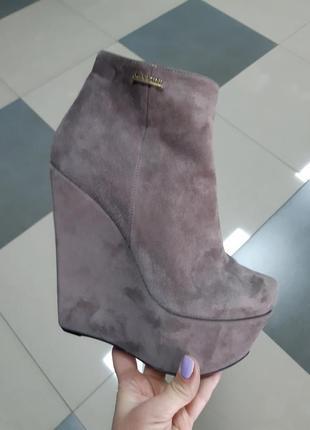 Скидка замшевые ботинки