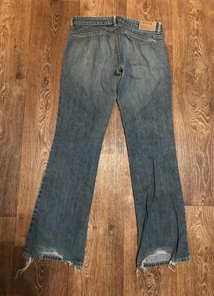 Рваные джинсы с push-up motor jeans