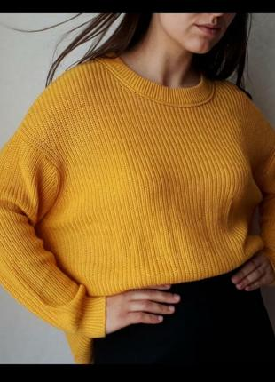 Щикарный оверсайз свитер