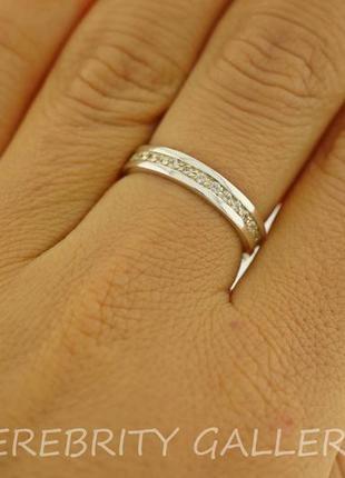 10% скидка - подписчикам! кольцо серебряное размер 17 100532 w серебро 925