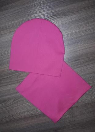 Набор шапка хомут 4-12л