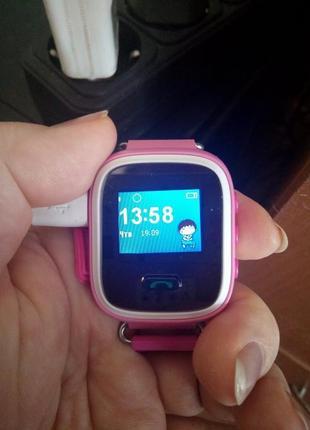 Детские умные смарт-часы с трекером q60, новые