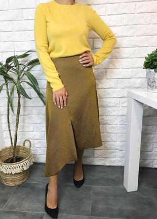 Ассиметричная юбка zara