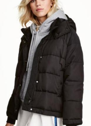 Утепленная куртка h&m