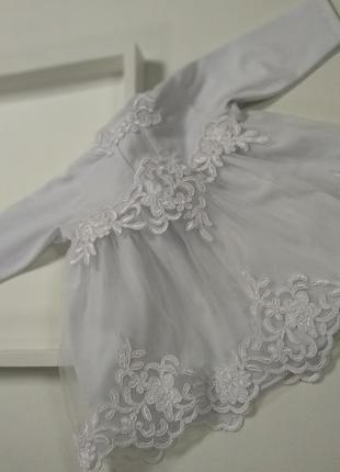 Сукня для хрещення, сорочка хрестильна, одяг для хрещення