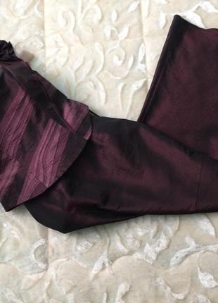 Вечерний костюм с юбкой