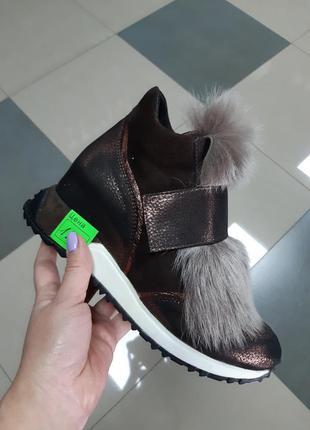 Натуральные турецкие ботинки