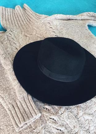 Шляпа,капелюх от new look,100%шерсть💚