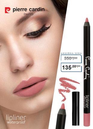 Влагостойкий карандаш для губ pierre cardin spring rose/нежно-розовый