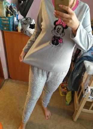 Пижама домашний костюм микки 52размер