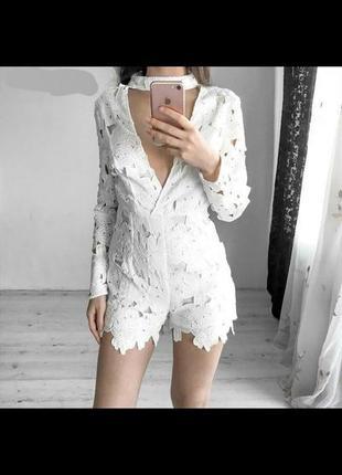 Платье комбинезон ромпер