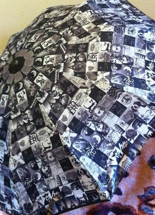 "Зонт ""старые фотографии"" на 10 спиц, автомат"