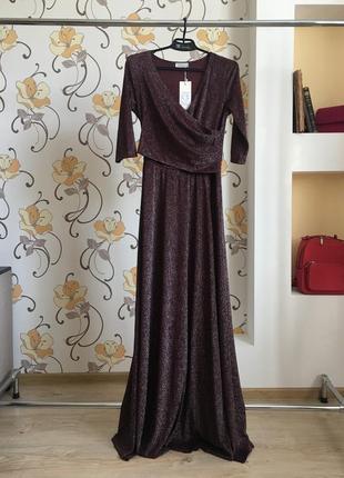 Вечернее , выходное , длинное дизайнерское платье от украинского бренда seam