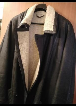 Куртка дубленка мужская р 56