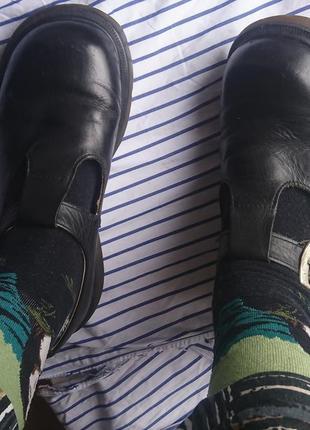 Туфли ботинки мэри джейн dr.martens винтаж кожа polley