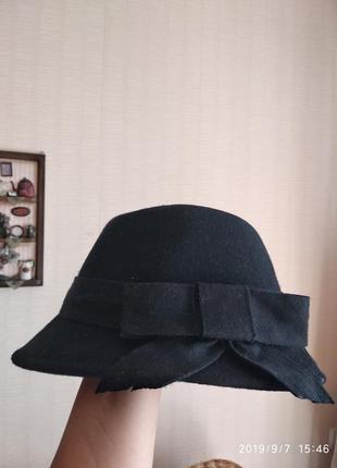 Шляпа из фетра размер 52 см