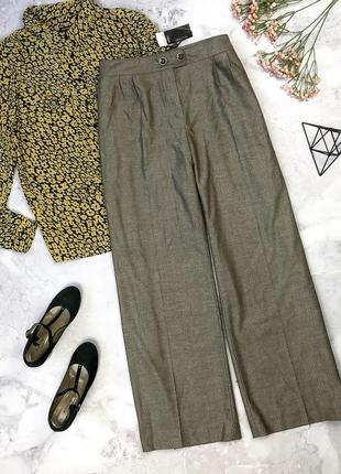 Стильные новые классические брюки с биркой