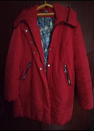 Женская зимняя курточка