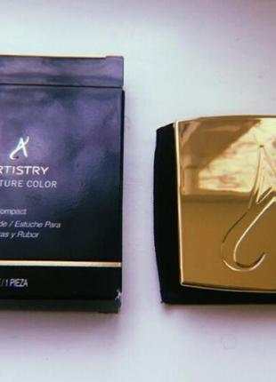Artistry signature color от amway. новый компактный футляр для теней и румян