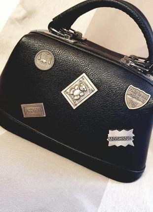 Черная сумка. экокожа