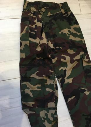 Камуфляжные штаны брюки4 фото