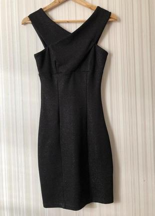 Офигенное чёрное платье 🖤