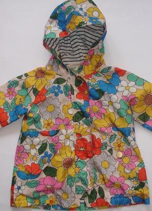 Фирменный next классный плащ куртка девочке 1,5-2,5 лет идеал