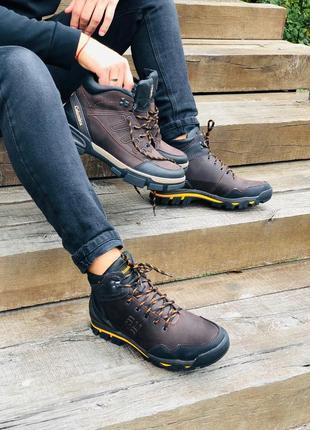 Мужские ботинки зима на меху очень стильные удобные качественные