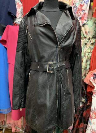 Распродажа/розпродаж/новая куртка с этикеткой/з етикеткою/кожзам/шкірзамінник