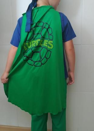 Карнавальный костюм черепашка ниндзя на 5-6 лет