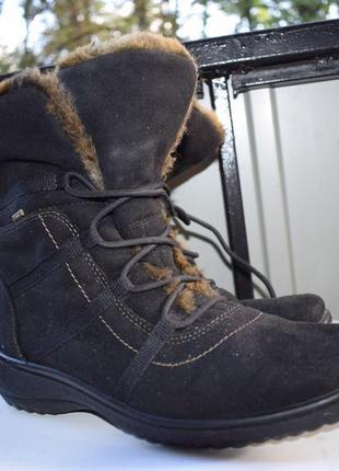 Мембранные зимние ботинки полусапожки полусапоги ара ara