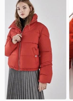 Куртка пуфер zara