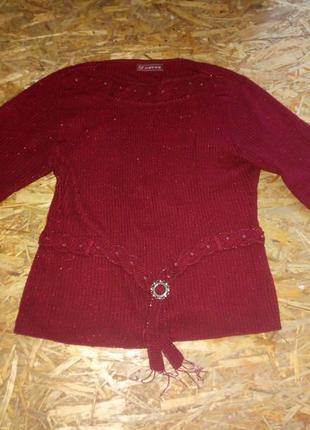 Нарядный женский свитерок