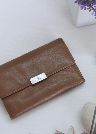 Классный кошелек adax, дания, натуральная кожа