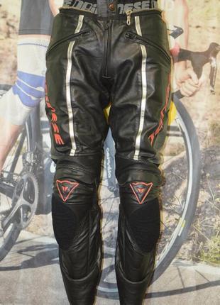 Мотоштаны, мото штаны dainese leather bike pants