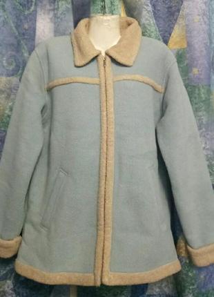 Куртка флисовая теплая.