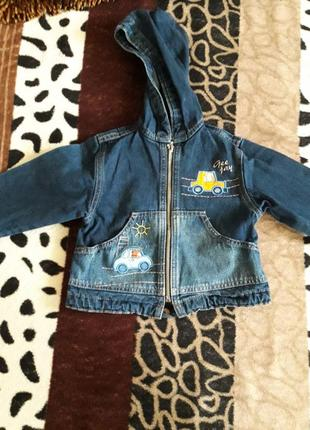 Джинсовая курточка, пиджак