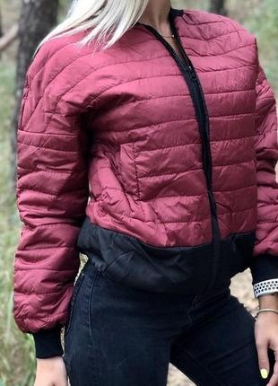 Куртка осень синтепон