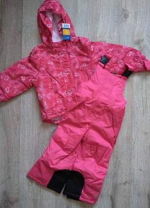Лыжный мембранный термо костюм(куртка+штаны) lupilu