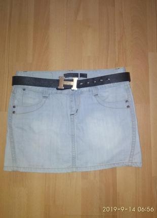 Продам женскую джинсовую юбку!