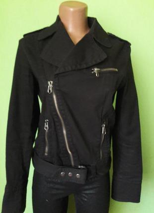 Котонновая  куртка косуха
