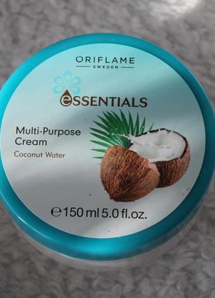Крем для лица и тела «кокосовая вода»