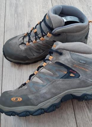 Ботинки salomon gore tex 38p