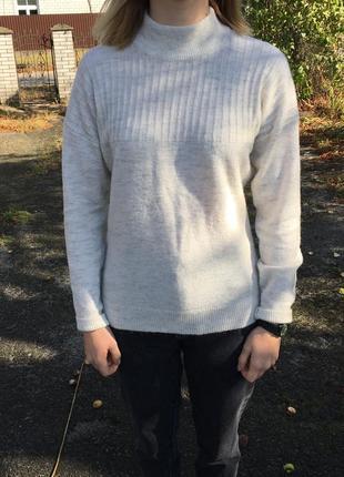 Ангоровый теплый свитер jack wills