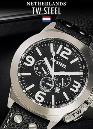- 70% | мужские часы хронограф tw steel canteen (оригинальные, новые с биркой)