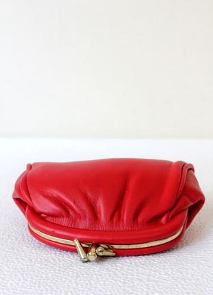 Красный кошелек - монетница